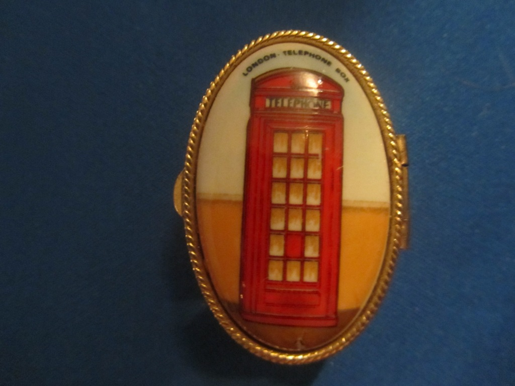 Pill Box (London Red Telephone Box )