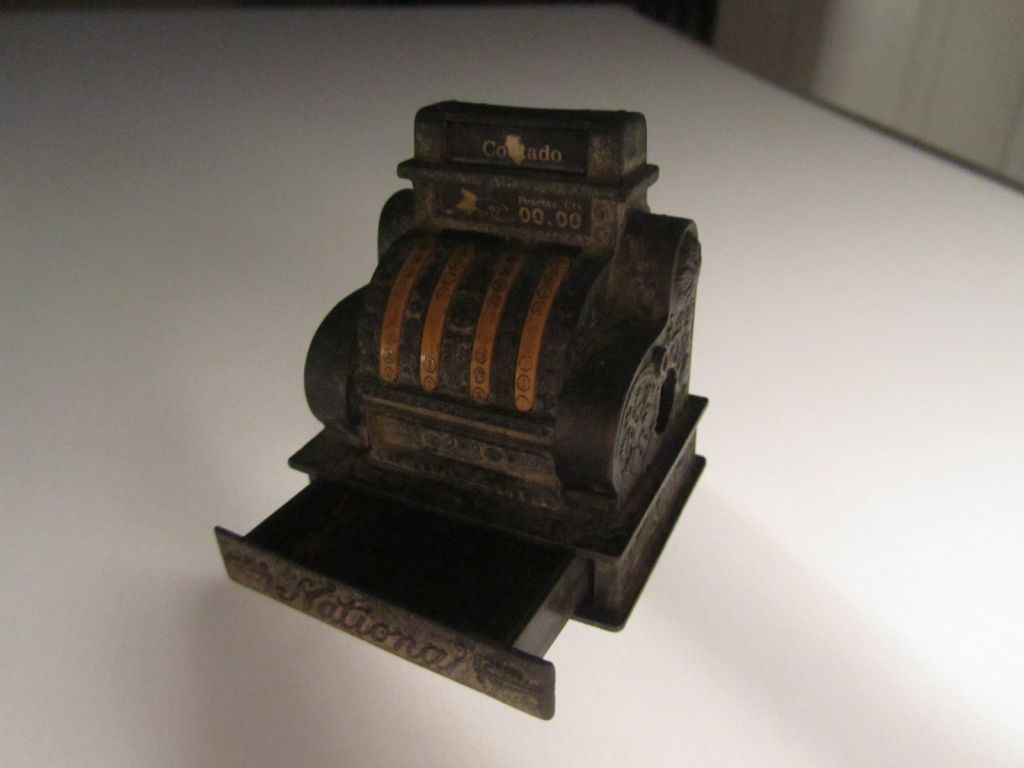 Contado cash register pencil sharpener