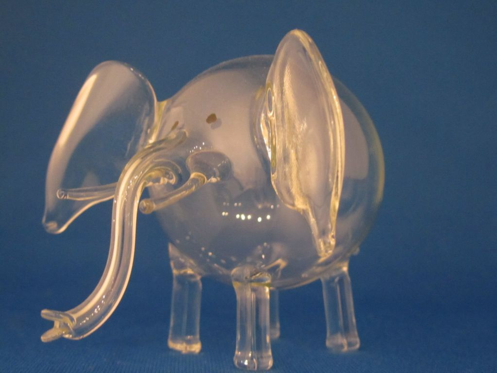 Glass Elephant