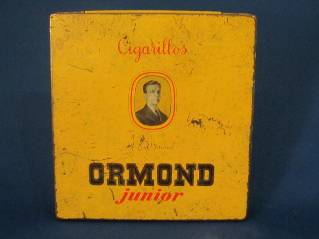 Ormond Junior cigar tin