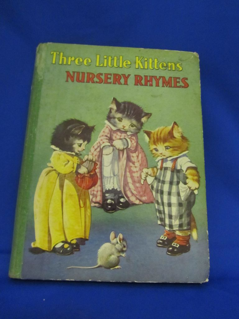 Three Little Kittens Nursery Rhymes