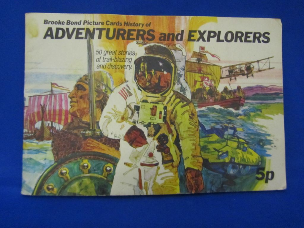 Brook Bond Picture cards Book of Adventurers and Explorers