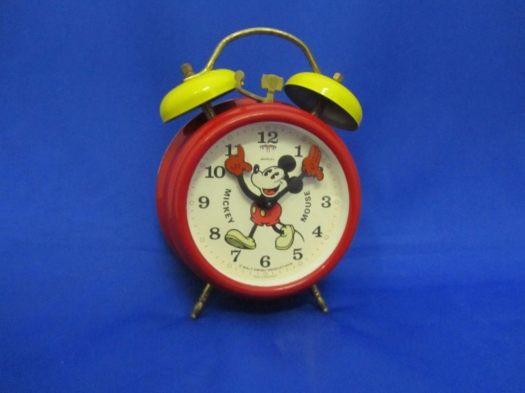 Mickey Mouse Alarm Clock Mickey Mouse Alarm Clock