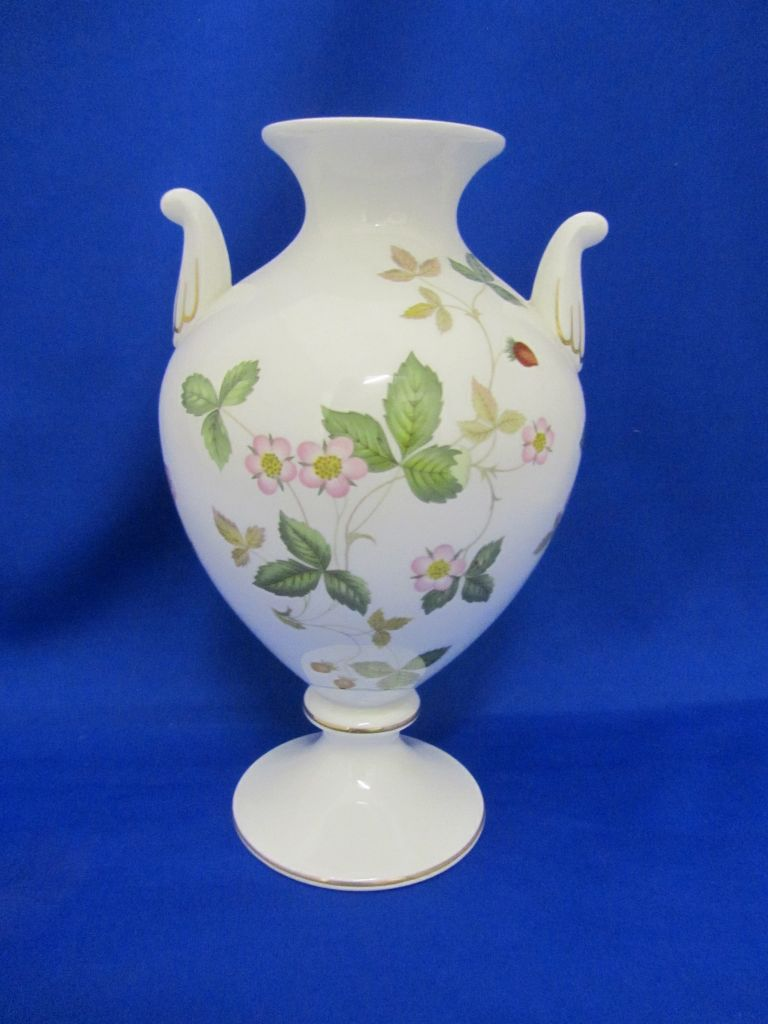 Wedgwood Wild Strawberry Vase