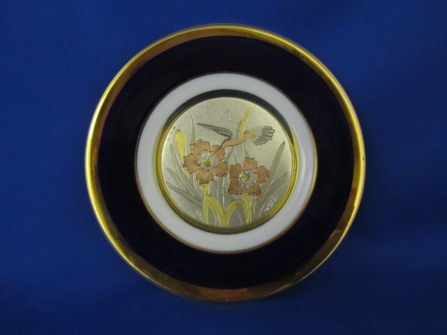 The Art Of Chokin collectors plate
