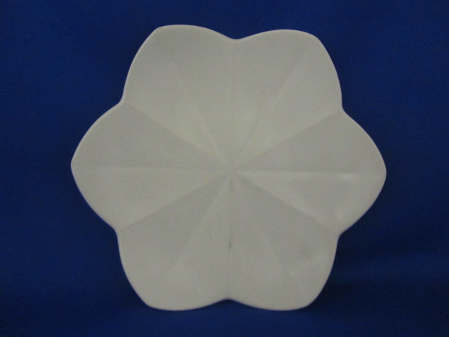 Wedgwood of Etruria& Barlaston white leaf shaped plate