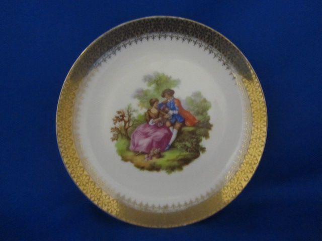 C.P. LIMOGES PLATE