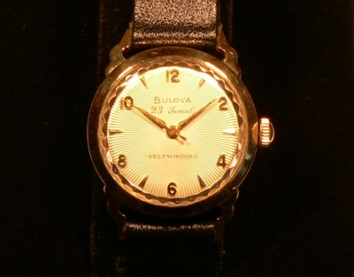 BULOVA 10 carat gold filled Gent's Wristwatch