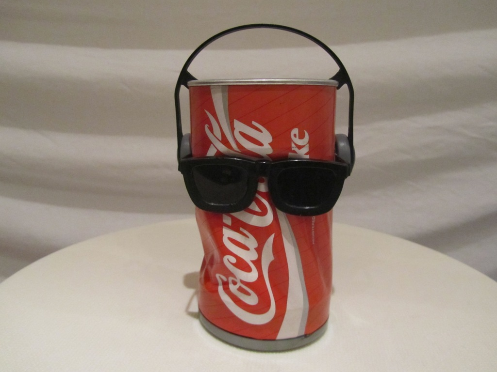 Dancing Coke Can