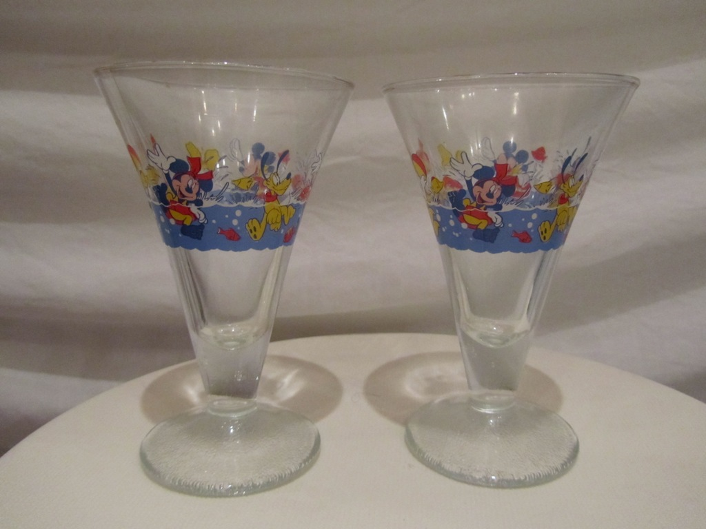 Disney Sundae Glasses